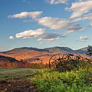 Autumn On The Farm Panorama Art Print