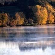 Autumn On Wisconsin River Art Print