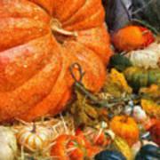 Autumn - Pumpkin - All Of My Relatives Art Print