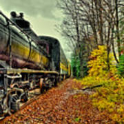 Autumn Railway Art Print