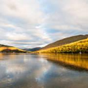 Autumn Reflection At Arrochar Art Print