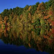 Autumn Reflection Of Colors Art Print
