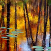 Autumn Reflections II Art Print