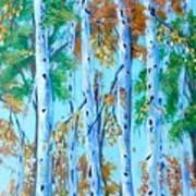 Autumn Rush Art Print