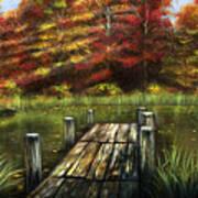Autumn Serenity Art Print