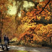 Autumn Splendor Promenade Art Print