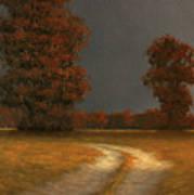 Autumn Storm 4 Art Print