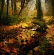 Autumn Sunrays Art Print