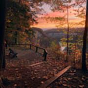 Autumn Sunrise Art Print
