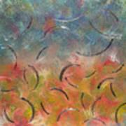 Autumn Swirl Art Print