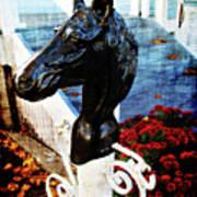 Autumn Taverne Entrance Art Print