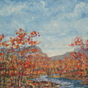 Autumn View. Art Print