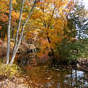 Autumn Vintage Landscape 5 Art Print