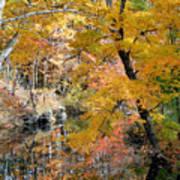 Autumn Vintage Landscape 6 Art Print