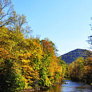 Autumn Williams River Art Print