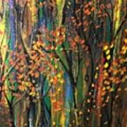 Autumn Woods Art Print