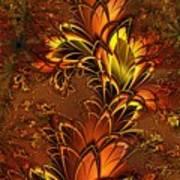 Autumnal Glow Art Print