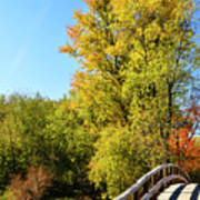 Autumnal North Bridge Art Print