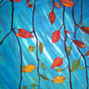 Autumnleaves Art Print
