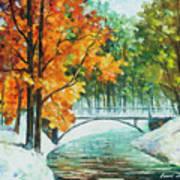 Autumn's End Art Print