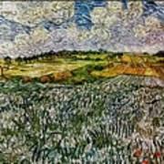 Landscape Auvers28 Art Print