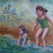 Ava And Friend Art Print