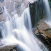 Avalanche Falls Flume Gorge Art Print