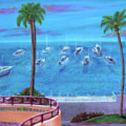 Avalon On Catalina Art Print