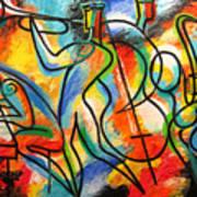 Avant-garde Jazz Art Print