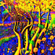 Avatar Forest - Pa Art Print