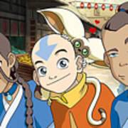 Avatar The Last Airbender Art Print