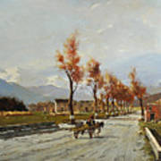Avellino's Landscape  Art Print