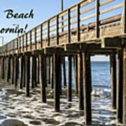 Avila Pier Avila Beach California Art Print