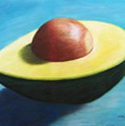Avocado Grande Art Print