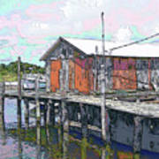 Avon Dock Art Print