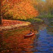 Avon In Autumn Art Print
