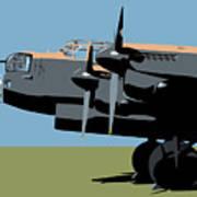 Avro Lancaster Bomber Art Print