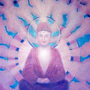 Awakening Buddha Art Print