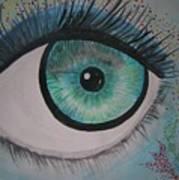 Awakening Eye Art Print