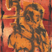 Axeman 5 Art Print
