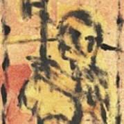 Axeman 9 Art Print