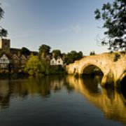 Aylesford Bridge Kent Art Print