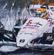 Ayrton Senna Toleman 1984 Art Print