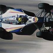 Ayrton Senna - Williams Renault Fw16 Art Print