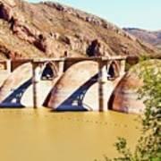 Az 2011 Apache Res - Coolidge Dam Art Print