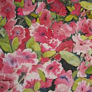 Azalea Medley Art Print