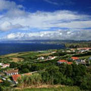 Azores Islands Landscape Art Print