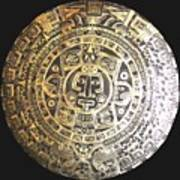 Aztec Calendar Art Print