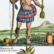 Aztec: Chocolate, 1685 Art Print