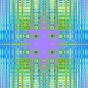 Aztec Computer Art Print